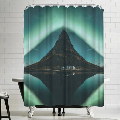 Luke Gram Kirkjufell Iceland Shower Curtain