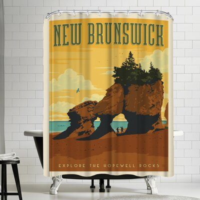 Anderson Design Group Canada New Brunswick Shower Curtain