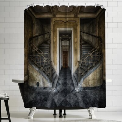 1x Double Shower Curtain