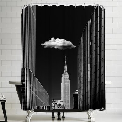 1x Single Cloud Shower Curtain