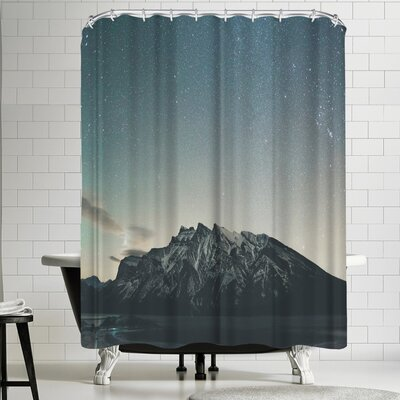 Luke Gram Lake Minnewanka Alberta Ii Shower Curtain