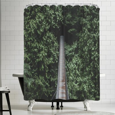 Luke Gram Lynn Valley Vancouver Ii Shower Curtain