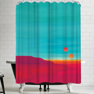 Joe Van Wetering Far Away Shower Curtain