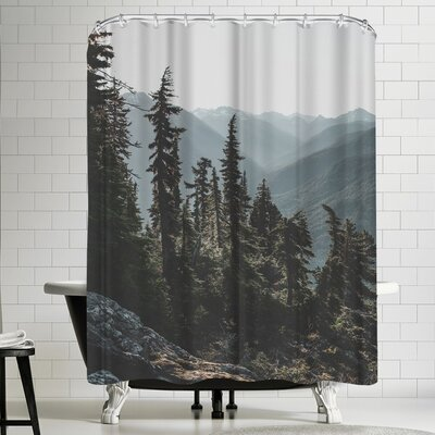 Luke Gram North Cascades National Forest USA Shower Curtain