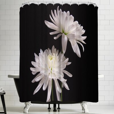 1x Simple Beauty Shower Curtain
