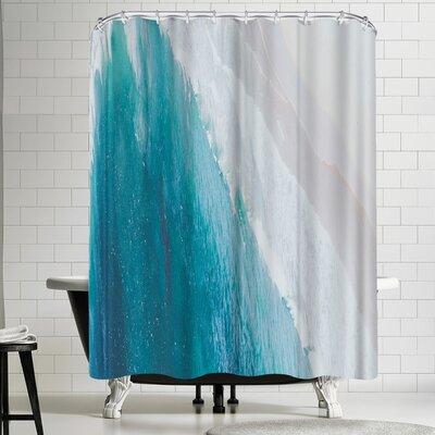 Luke Gram Ocean Gradient Shower Curtain