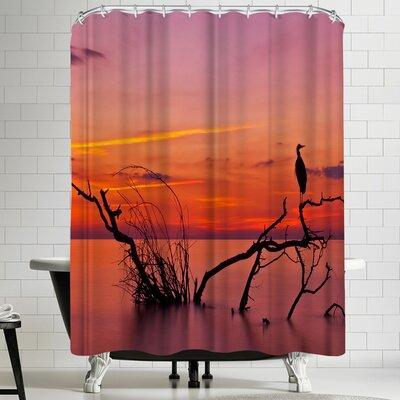 1x Quiet Evening Shower Curtain