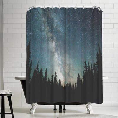 Luke Gram Stars Over the Forest Iii Shower Curtain