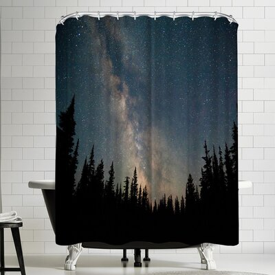 Luke Gram Stars Over the Forest Shower Curtain