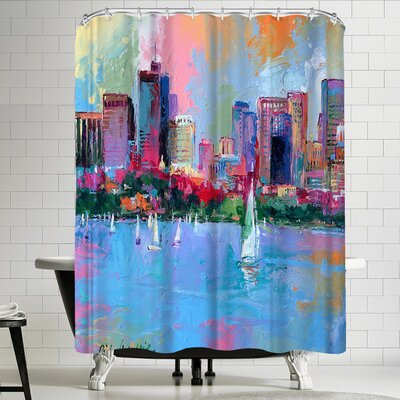 Richard Wallich Boston Shower Curtain