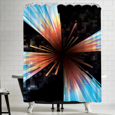 Joe Van Wetering Higgs Shower Curtain