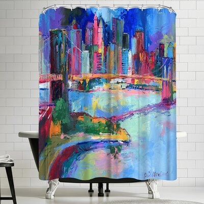 Richard Wallich Brooklyn Shower Curtain
