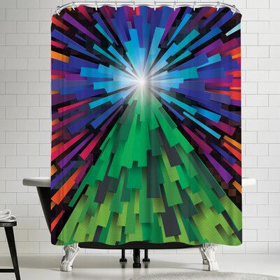 Joe Van Wetering Light the Tree Shower Curtain