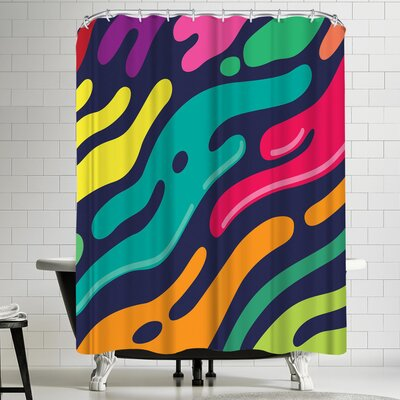 Joe Van Wetering Liquid Shower Curtain