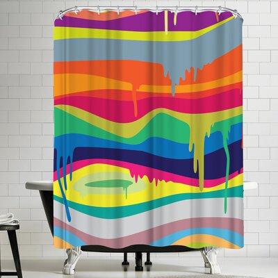 Joe Van Wetering Melt On Shower Curtain