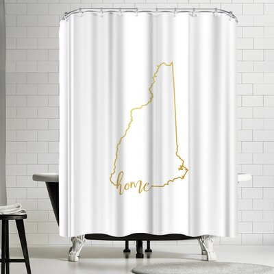 Paperfinch New Hampshire Home Shower Curtain