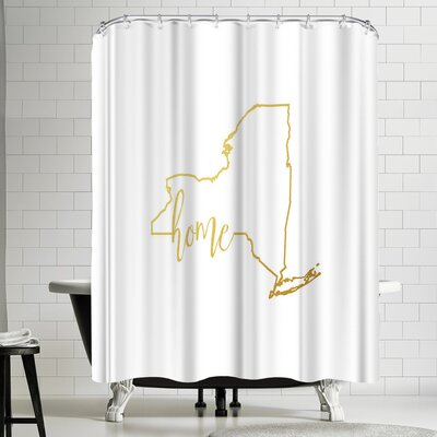 Paperfinch New York Home Shower Curtain
