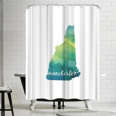 Paperfinch NH Manchester Shower Curtain