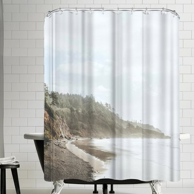 Luke Gram Ecola State Park Oregon Shower Curtain