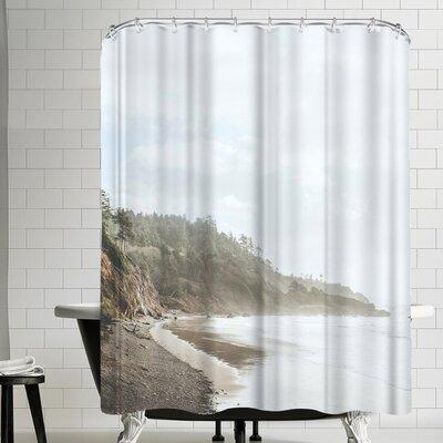 Luke Gram Ecola State Park Oregon Shower Curtain