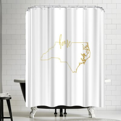 Paperfinch North Carolina Home Shower Curtain