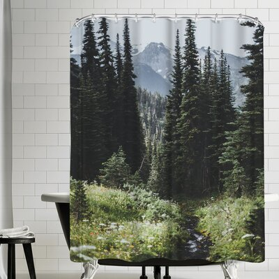 Luke Gram Garibaldi Canada Shower Curtain