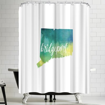 Paperfinch CT Bridgeport Shower Curtain