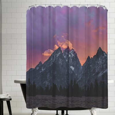 Luke Gram Grand Tetons Wyoming Iv Shower Curtain