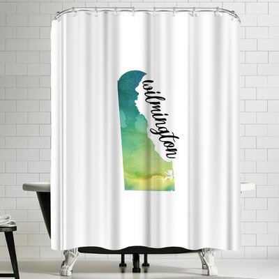 Paperfinch DE Wilmington Shower Curtain