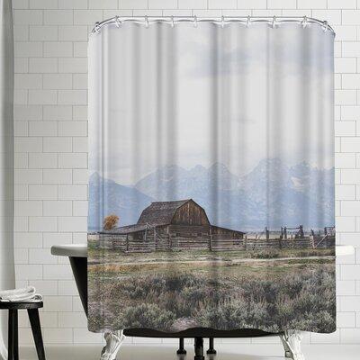 Luke Gram Grand Tetons Wyoming Shower Curtain
