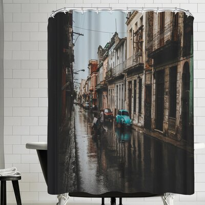 Luke Gram Havana Cuba Shower Curtain