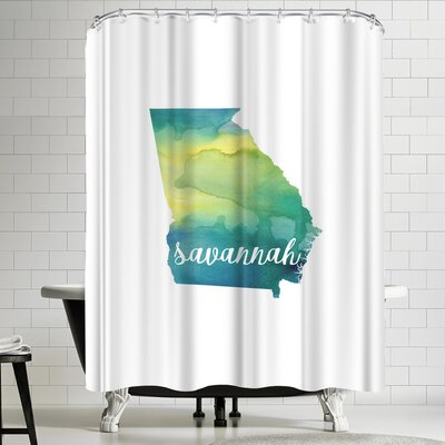 Paperfinch GA Savannah Shower Curtain