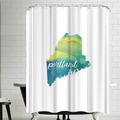 Paperfinch ME Portland Shower Curtain