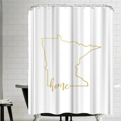 Paperfinch Minnesota Home Shower Curtain