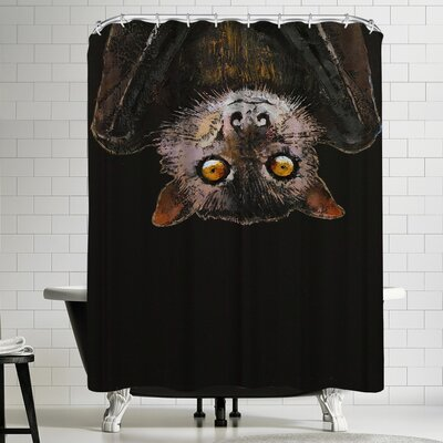 Michael Creese Bat Shower Curtain