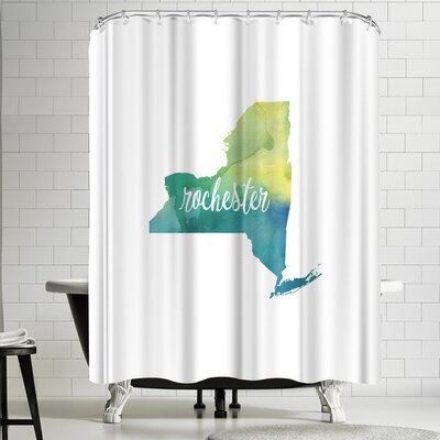 Paperfinch NY Rochester Shower Curtain