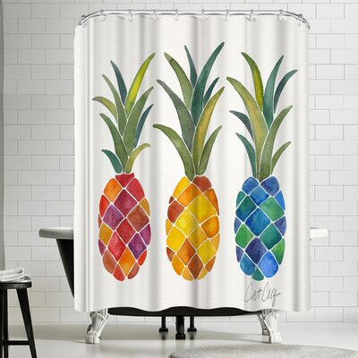 Pine Apples Shower Curtain