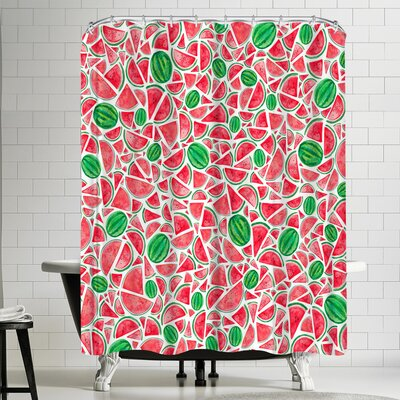 Elena Oneill Watermelons Shower Curtain