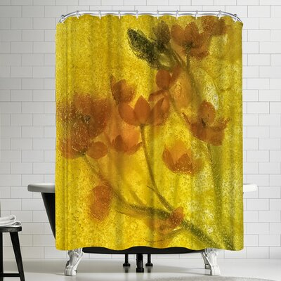 Zina Zinchik Ruby of the Valley Shower Curtain