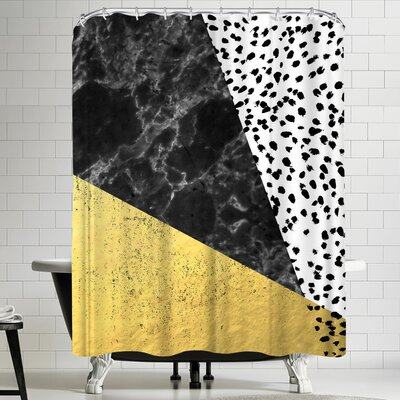 Charlotte Winter Mele Shower Curtain