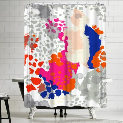 Charlotte Winter Mica Shower Curtain