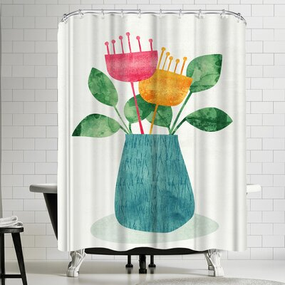 Tracie Andrews Bouquet Shower Curtain