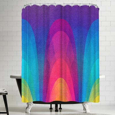Tracie Andrews Chroma 02 Shower Curtain