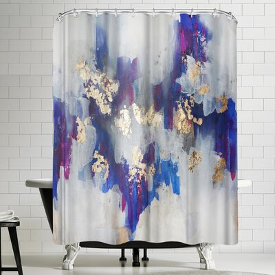 Christine Olmstead Golden Road Shower Curtain