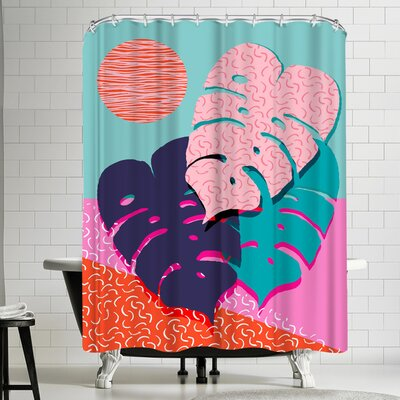 Wacka Designs Mega Shower Curtain