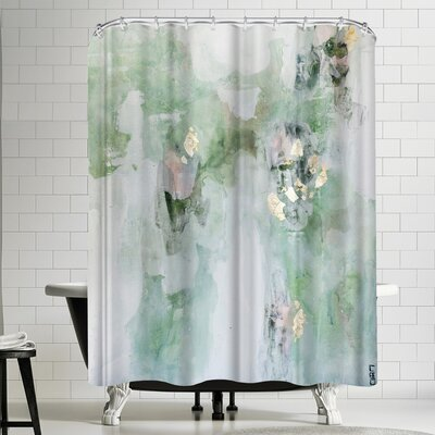 Christine Olmstead Leaf it Alone Shower Curtain