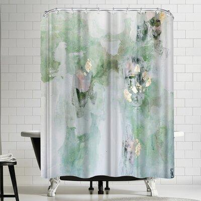 Christine Olmstead Leaf it Alone Shower Curtain