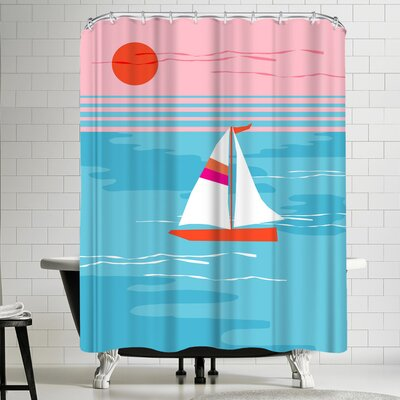 Wacka Designs Mellow Out Shower Curtain