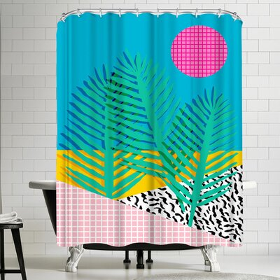 Wacka Designs Mondo Shower Curtain