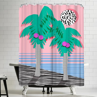 Wacka Designs Most Definitely Shower Curtain